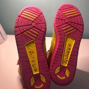 Jeremy Scott x Adidas Shoes - Jeremy Scott Adidas  camo pink sneakers